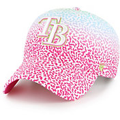 '47 Youth Tampa Bay Rays Rainbow Groovy Clean Up Adjustable Hat