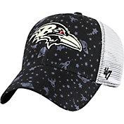 '47 Youth Baltimore Ravens Blast Off MVP Black Adjustable Hat