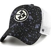 '47 Youth Pittsburgh Steelers Black Blast Off MVP Adjustable Hat