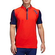 adidas Men's USA Olympic Golf Recycled Polyester Vest