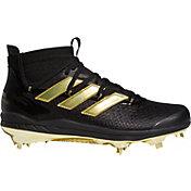 adidas Men's adizero Afterburner 8 NWV Mid Metal Baseball Cleats