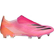 adidas X Ghosted + Laceless FG Soccer Cleats