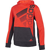 adidas Boys' Colorblock Pullover Hoodie
