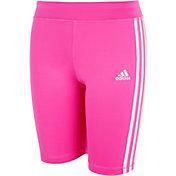 adidas Girls' AEROREADY 3-Stripes Bike Shorts