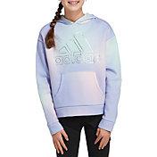 adidas Girls' Gradient Fleece Hoodie
