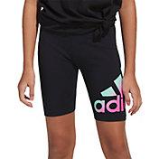 adidas Girls' Graphic Bike Shorts