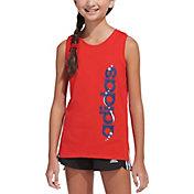 adidas Girls' Americana Muscle Tank Top