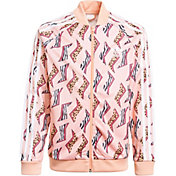 adidas Girl's All Over Print Superstar Top