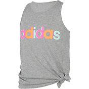 adidas Girls' Tie Front Tank Top