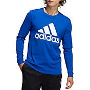adidas Men's Basic Badge of Sport Long Sleeve Shirt