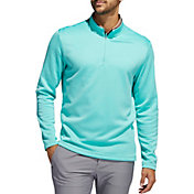 Adidas Men's Club Recycled Polyester 1/4 Zip Golf Pullover
