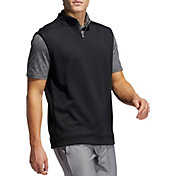 adidas Men's Club ¼ Zip Recycled Polyester Golf Vest