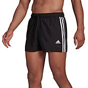 adidas Men Classic 3-Stripes Swim Trunks