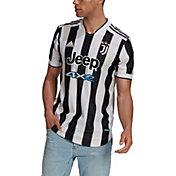 adidas Men's Juventus '21 Home Authentic Jersey