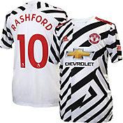 adidas Men's Manchester United '20-'21 Marcus Rashford #10 Third Replica Jersey