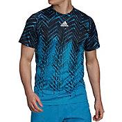 adidas Men's Tennis Freelift Printed T-Shirt
