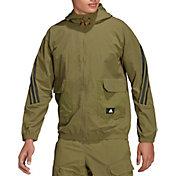 adidas Men's Sportswear Future Icons Corduroy Full-Zip Hoodie