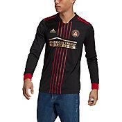 adidas Men's Atlanta United '21-'22 Primary Replica Long Sleeve Jersey