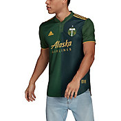 adidas Men's Portland Timbers '21 Primary Authentic Jersey