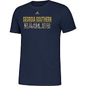 adidas Men's Georgia Southern Eagles Navy Amplifier T-Shirt