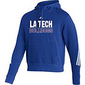 adidas Men's Louisiana Tech Bulldogs Blue Pullover Hoodie