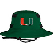 adidas Men's Miami Hurricanes Green Victory Performance Hat