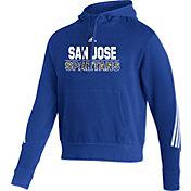adidas Men's San Jose State  Spartans Blue Pullover Hoodie