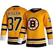 adidas Men's Boston Bruins Patrice Bergeron #37 Reverse Retro ADIZERO Authentic Jersey