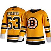adidas Men's Boston Bruins Brad Marchand #63 Reverse Retro ADIZERO Authentic Jersey