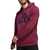 adidas Men's Postgame Solid Pullover Hoodie