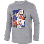 adidas Kids' Sport Dude Long Sleeve T-Shirt