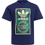 adidas Kids' Allover Print Pack Camo Print Graphic Tee