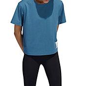 adidas Women's Cotton Boyfriend Crop T-Shirt