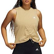 adidas Women's Cotton Cinch Tank Top