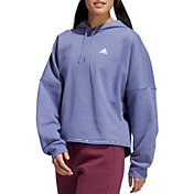 adidas Women's French Terry Cropped Hoodie
