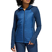 adidas Women's Quilted Full Zip Golf Jacket