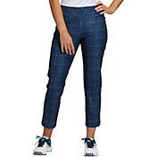 Adidas Women's Print Ankle Golf Pants