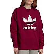 adidas Women's Originals Trefoil Crew Neck Sweatshirt