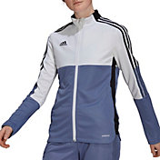 adidas Women's Badge of Sport Tiro Colorblock Track Jacket