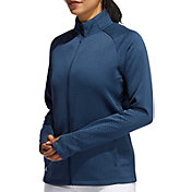 adidas Women's Textured Full Zip Recycled Polyester Jacket