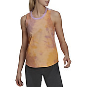adidas Women's Tie-Dyed Effect Tank Top