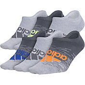adidas Youth Superlite Badge of Sport No Show Socks 6 Pack