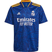 adidas Youth Real Madrid '21 Away Replica Jersey