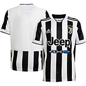 adidas Youth Juventus '21 Home Replica Jersey