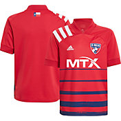adidas Youth FC Dallas '20-'21 Primary Replica Jersey