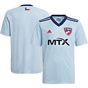 adidas Youth FC Dallas '21-'22 Secondary Replica Jersey