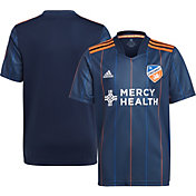adidas Youth FC Cincinnati '21-'22 Primary Replica Jersey