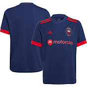 adidas Youth Chicago Fire '21-'22 Primary Replica Jersey