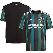 adidas Youth Los Angeles Galaxy '21-'22 Secondary Replica Jersey