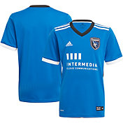 adidas Youth San Jose Earthquakes '21-'22 Primary Replica Jersey